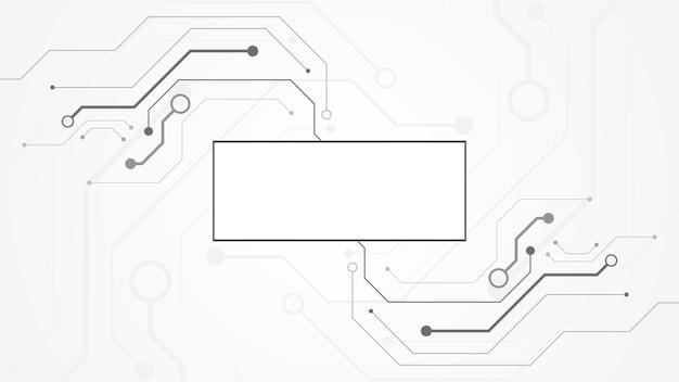 Technologie-hintergrund-leiterplatte hi-tech-kommunikationskonzept innovation abstrakte hintergrundvektorillustration