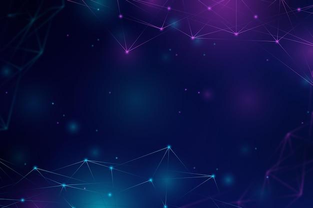 Technologie-hintergrund mit farbverlaufsstil