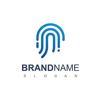 Technologie-logo-vorlage
