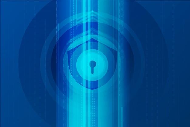 Technologie sichern abstrakten hintergrund
