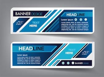 Technologie Textfeld Vorlage, Banner Infografik