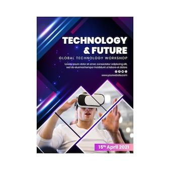 Technologie und zukünftiger vertikaler flyer