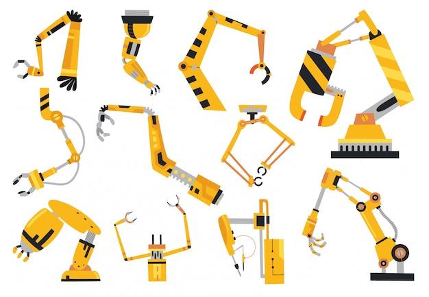 Technologie zur herstellung industrieller roboterarme