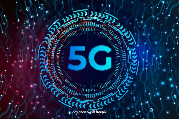 Technologiebereich für hintergrund des konzeptes 5g