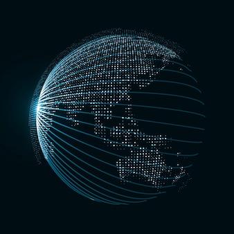 Technologiebild des globus
