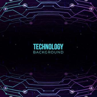 Technologiegradientenhintergrund