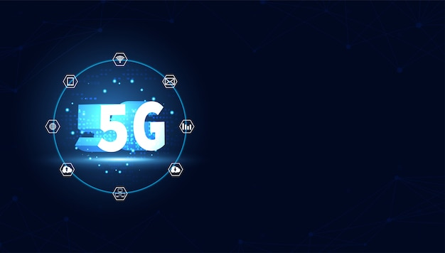 Technologiehintergrund des drahtlosen internets 5g
