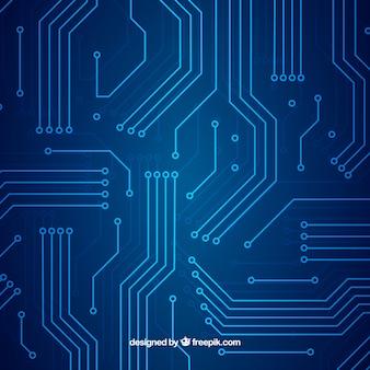 Technologiehintergrund in der abstrakten art