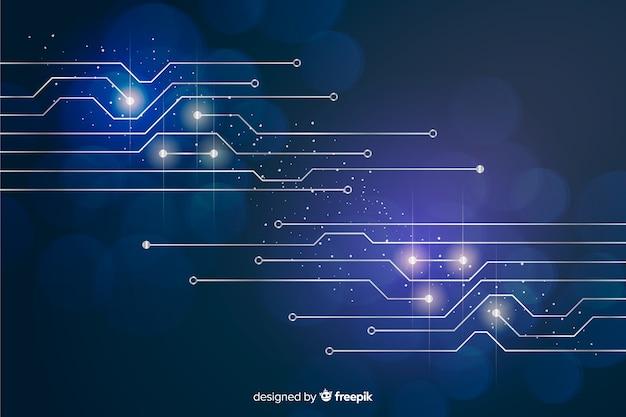 Technologiekonzept hintergrund