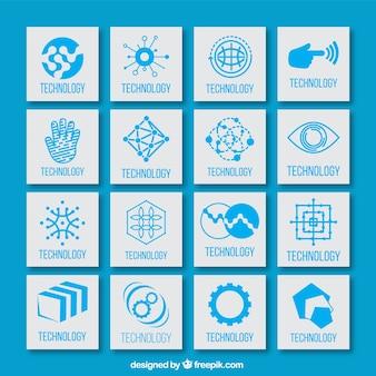 Technologische icons set