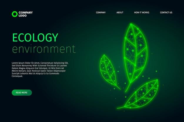 Technologisches ökologiedesign