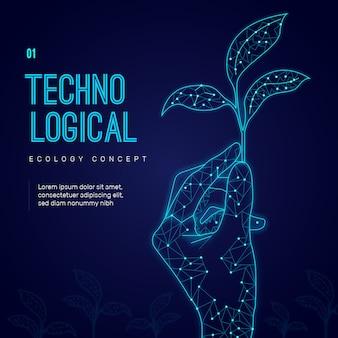 Technologisches ökologiekonzept