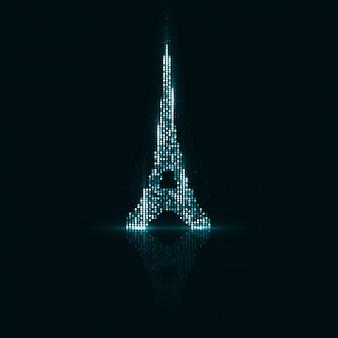 Technologisches zeichen von paris