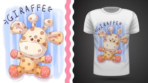 Teddy-giraffe
