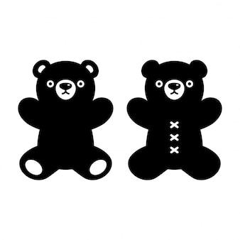 Teddybär cartoon