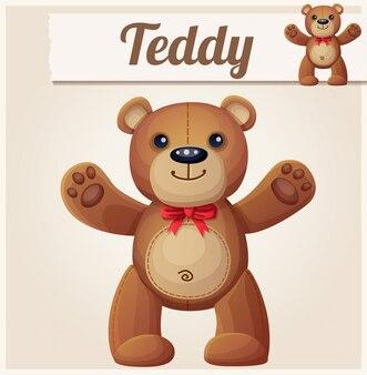 Teddybär liebt umarmungen
