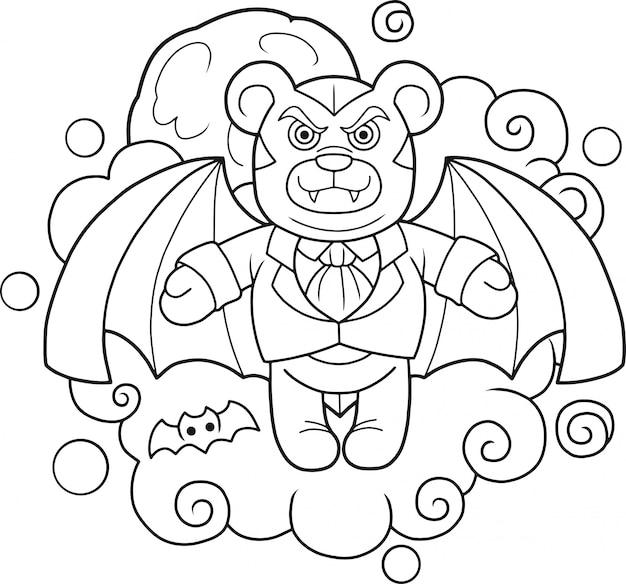 Teddybär vampir