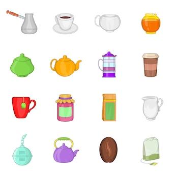 Tee und kaffee set