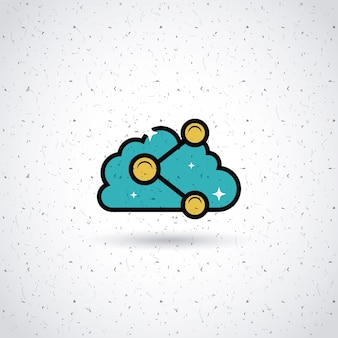 Teilen im cloud-design
