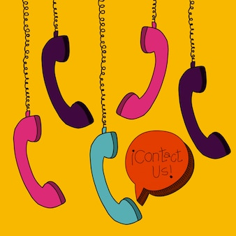 Telefone hängen
