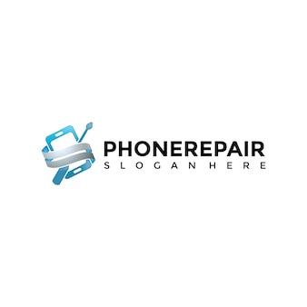 Telefonreparatur logo vorlage
