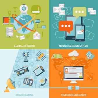 Telekommunikations-konzept