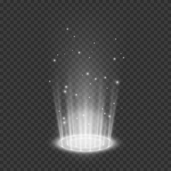 Teleport lichteffekte