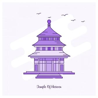 Tempel des himmels markstein