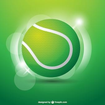 Tennis ball abbildung