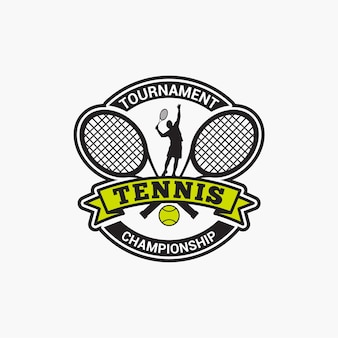 Tennis club abzeichen