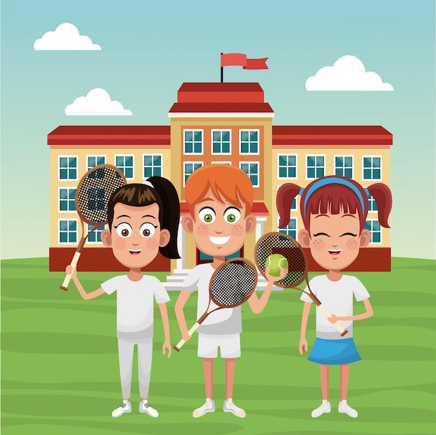 Tennis schulmannschaft