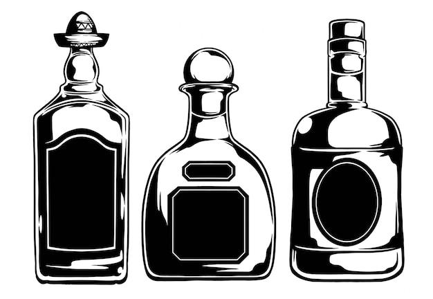 Tequila-flasche