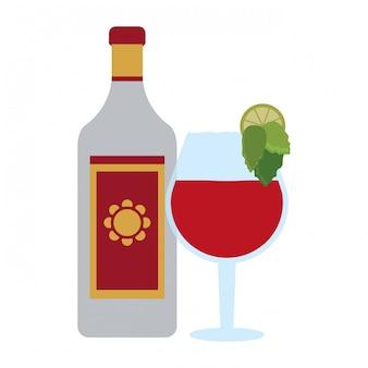 Tequila mexikanisches getränk