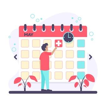 Terminbuchung mit kalender