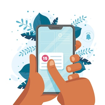 Terminbuchung mit smartphone