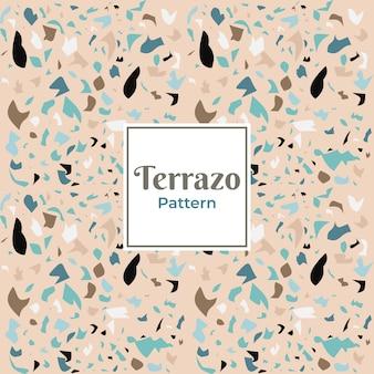Terrazzo-dekorationsmuster für fliesen