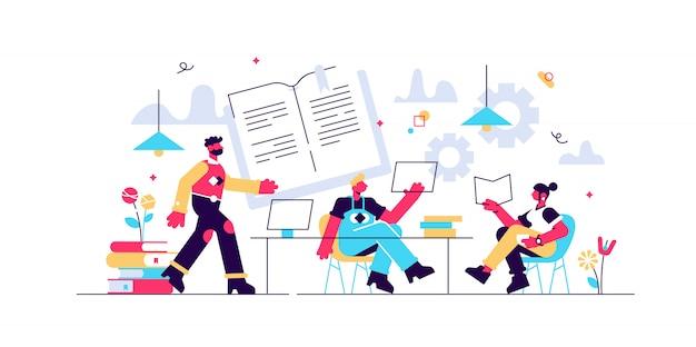 Test gemeinsam vorbereiten. mit freunden lernen und lernen. effektive überarbeitung, überarbeitungspläne und planung, überarbeitung des prüfungskonzepts. helle lebendige violette isolierte illustration