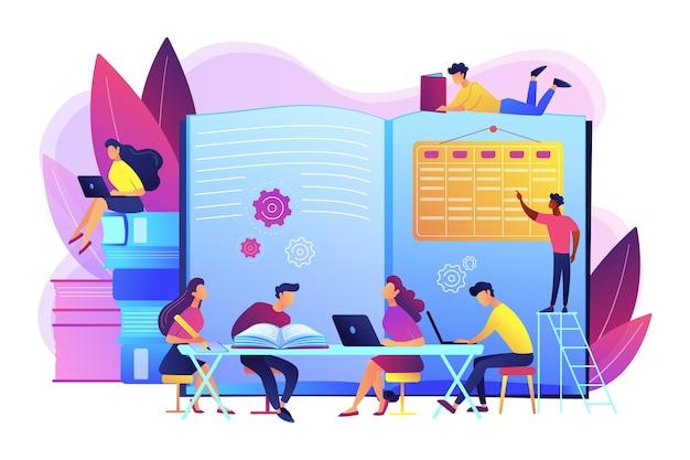 Test gemeinsam vorbereiten. mit freunden lernen und lernen. effektive überarbeitung, überarbeitungspläne und planung, überarbeitung des prüfungskonzepts.