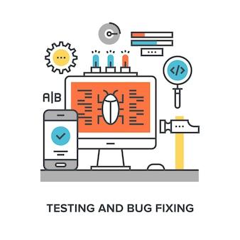 Tests und fehlerbehebung