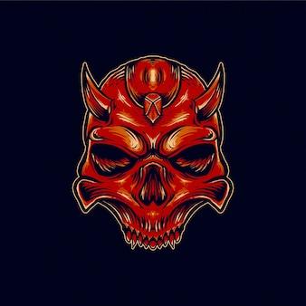 Teufelsschädel