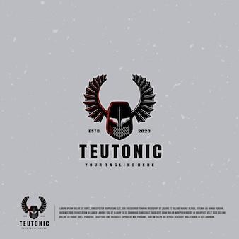 Teutonisches logo des tempelritters