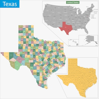 Texas karte