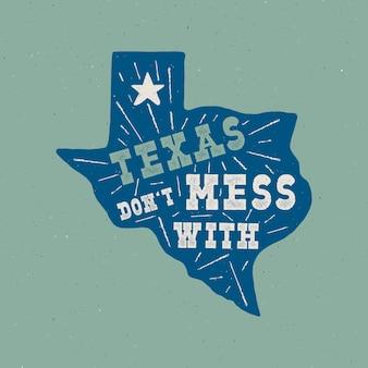 Texas state abzeichen