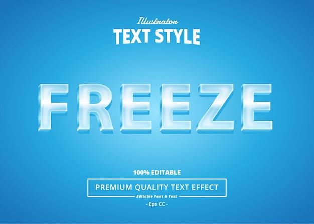 Texteffekt einfrieren