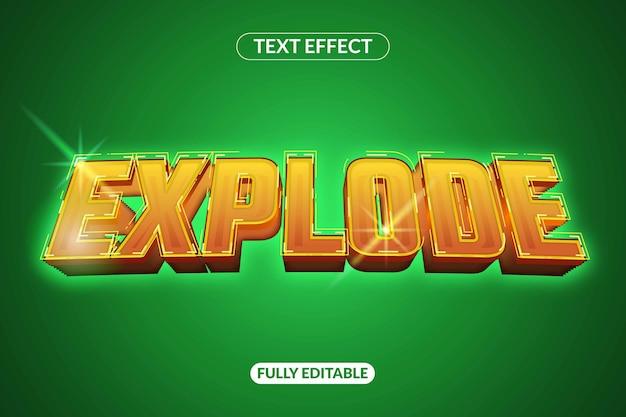 Texteffekt explodieren