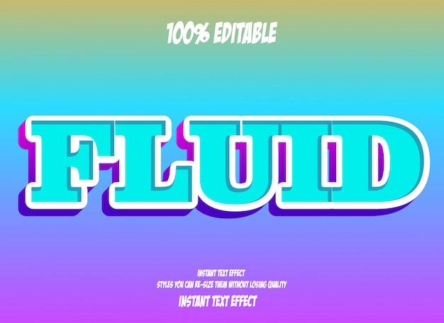 Texteffekt für einen coolen futuristischen effekt