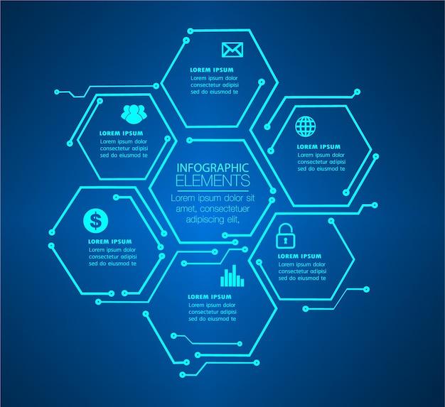 Textfeld, internet der dinge cyber-schaltungstechnologie