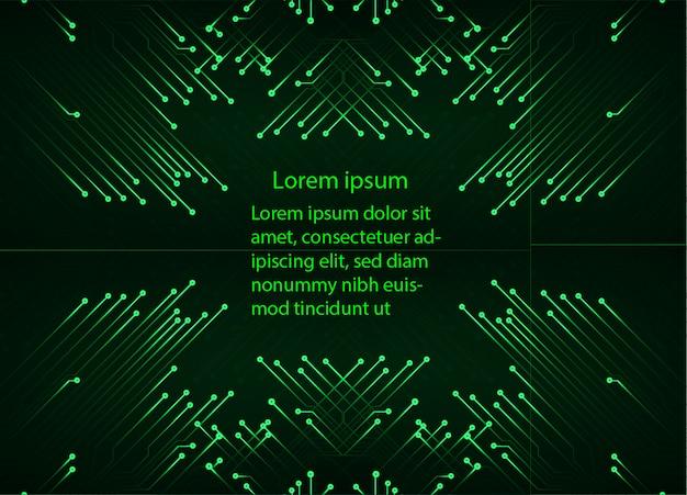 Textfeld, internet der dinge cyber-technologie-vorlage