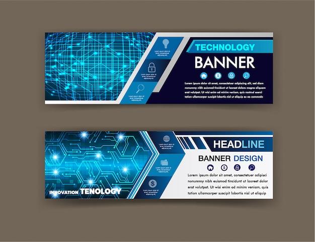 Textfeld schaltungsvorlage, website-banner