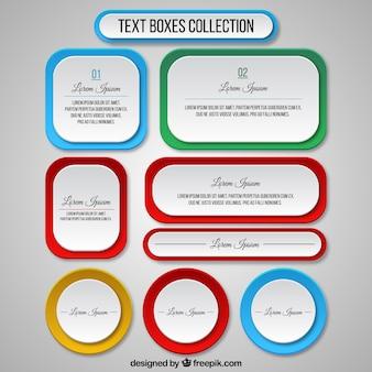 Textfelder template-sammlung